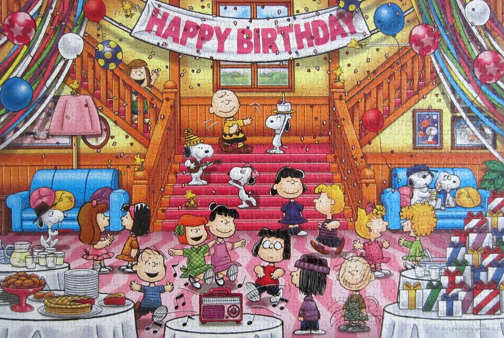 《艾‧拼圖-578》Snoopy Peanuts Party.jpg