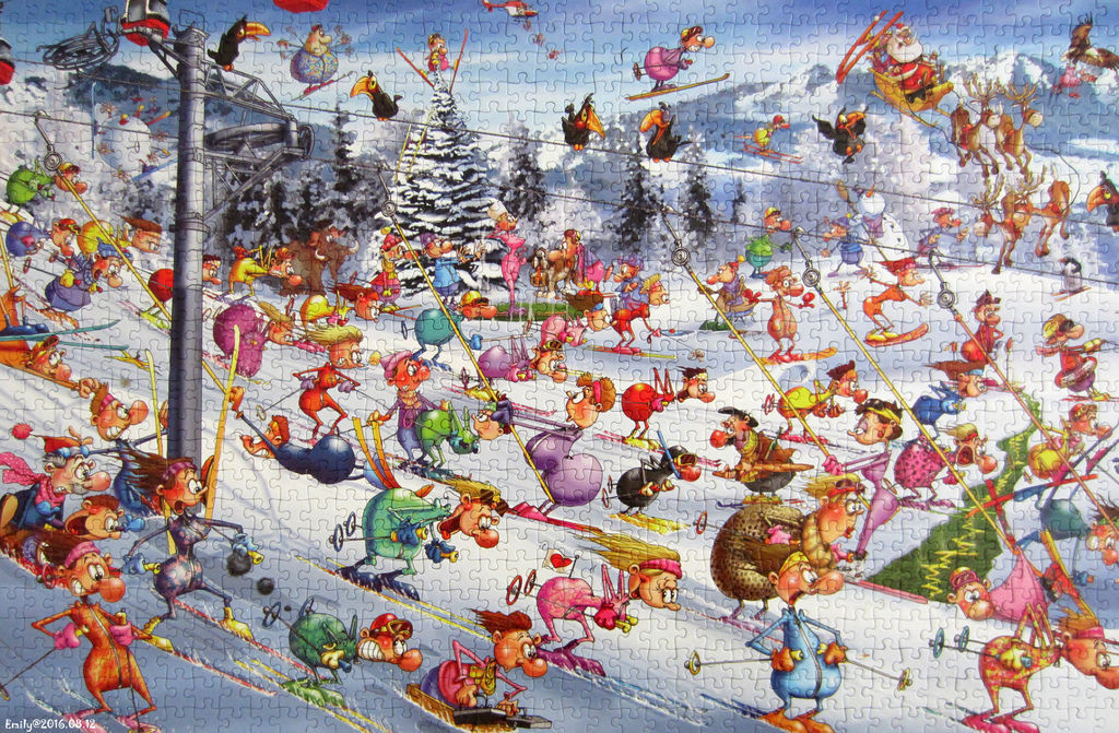 《艾‧拼圖-618》Christmas Skiing.jpg
