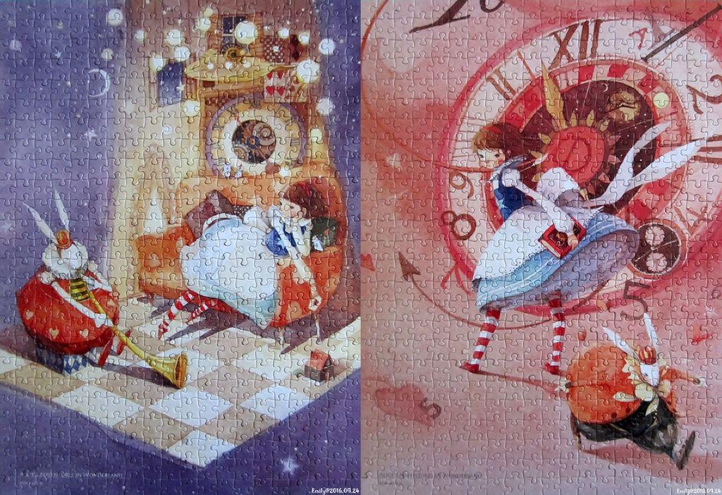 《艾‧拼圖-644-645》Alice in Wonderland-horz.jpg