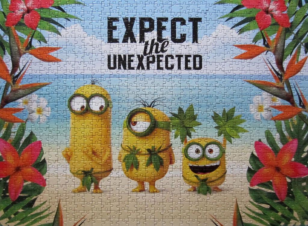 《艾‧拼圖-790》Minions Expect the unexpected.jpg