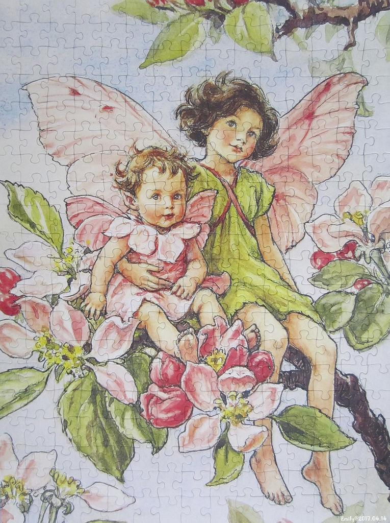 《艾‧拼圖-794》Apple Blossom Fairies.jpg