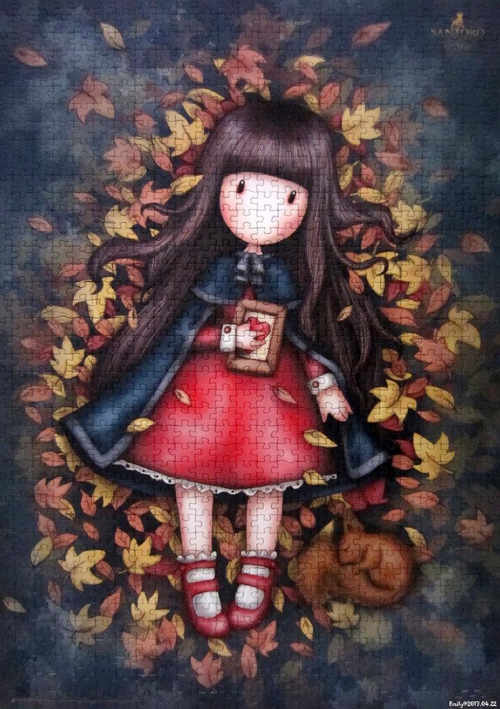 《艾‧拼圖-809》Gorjuss-Autumn Leaves-1.jpg