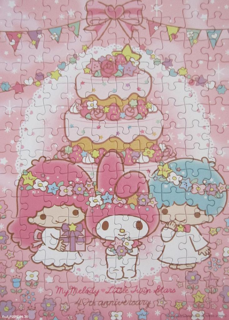 《艾‧拼圖-825》My Melody & Little Twin Stars 40th Anniversary.jpg