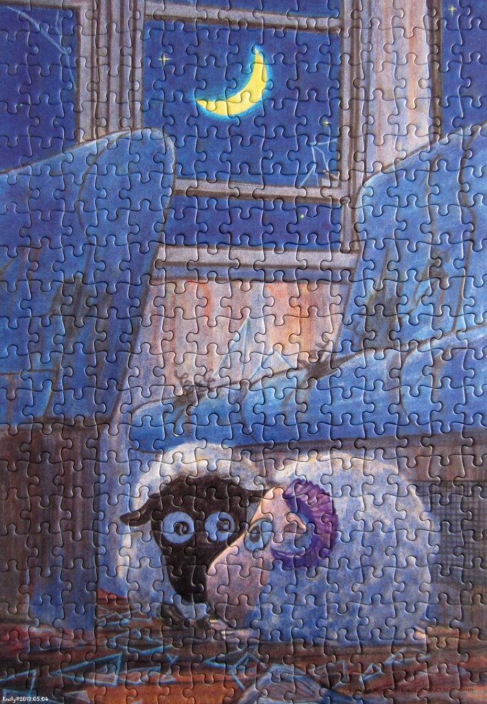 《艾‧拼圖-829》Stray Sheep - In the moonlight.jpg