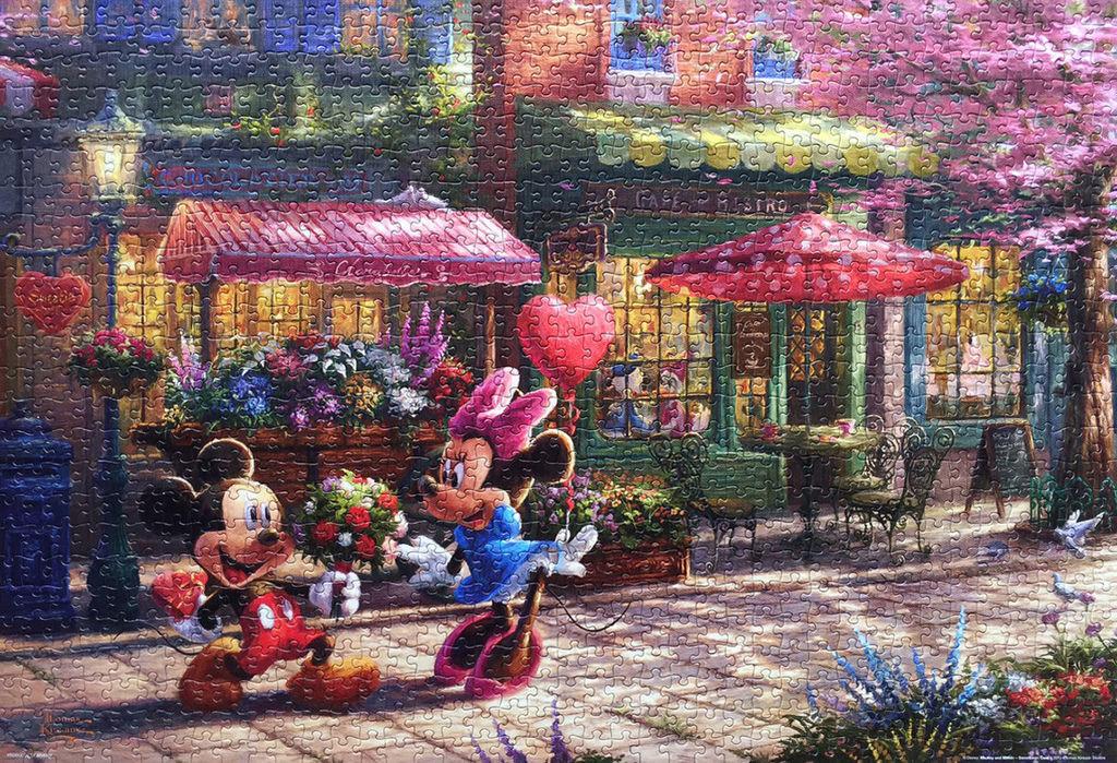 《艾‧拼圖-838》Mickey and Minnie Sweeyheart Cafe.jpg