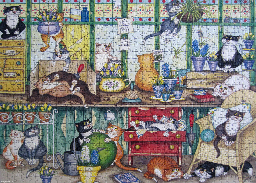《艾‧拼圖-855》Cats in The Conservatory.jpg