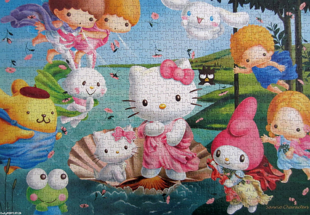 《艾‧拼圖-856》Sanrio Charactors The Birth of Venus.jpg