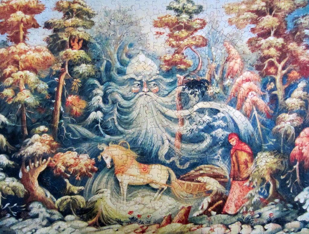 《艾‧拼圖-914》Morozko - Father Frost and the Maiden.jpg
