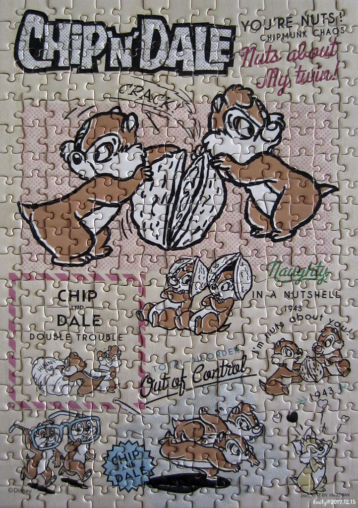 《艾‧拼圖-944》コミックアート チップ&デール.jpg