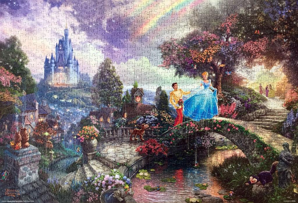 《艾‧拼圖-978》Cinderella Wishes Upon a Dream.jpg