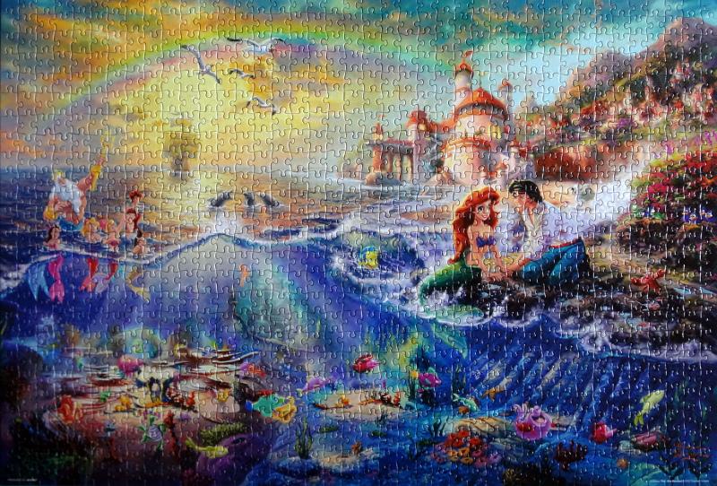 《艾‧拼圖-979》The Little Mermaid.JPG
