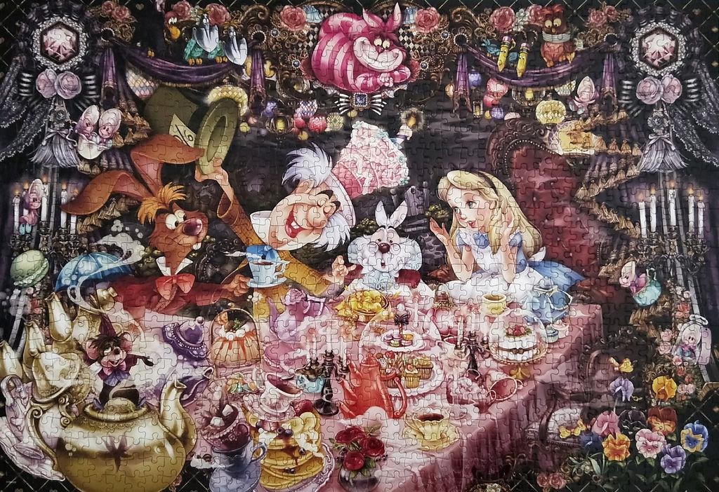 《艾‧拼圖-992》Alice in Wonderland Tea Party.jpg