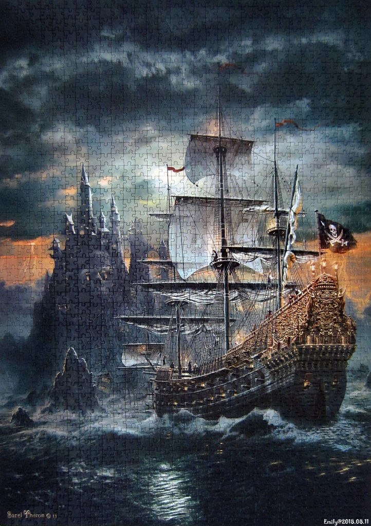 《艾‧拼圖-1005》The Pirate Ship.jpg