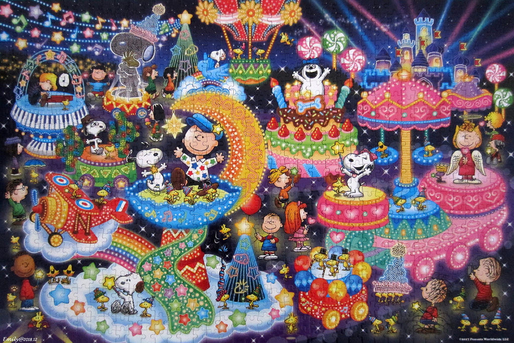 《艾‧拼圖-1055》Snoopy Illumination.jpg
