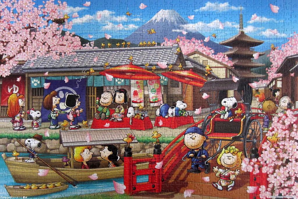 《艾‧拼圖-1056》Snoopy in Japan.jpg