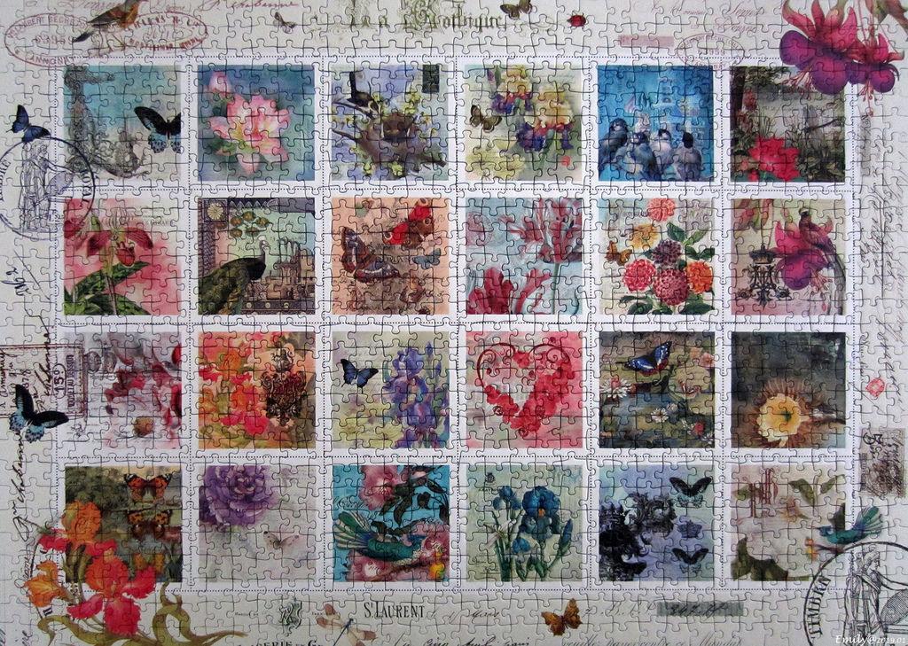 《艾‧拼圖-1069》Stamp collection.jpg