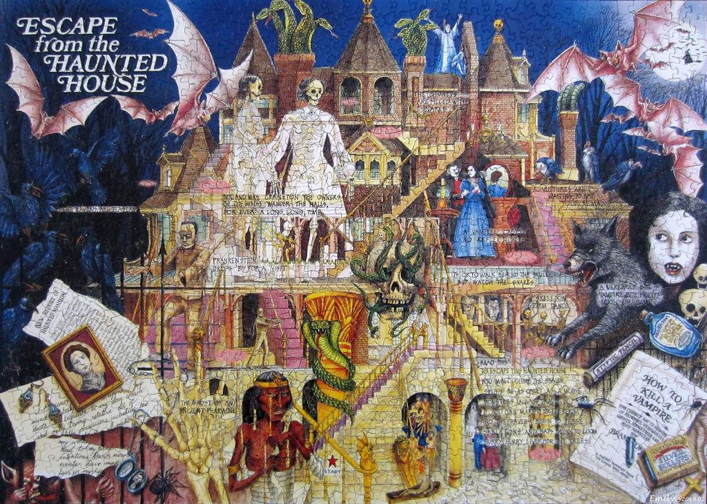 《艾‧拼圖-1083》Mythic Mazes - Escape from Haunted House.jpg