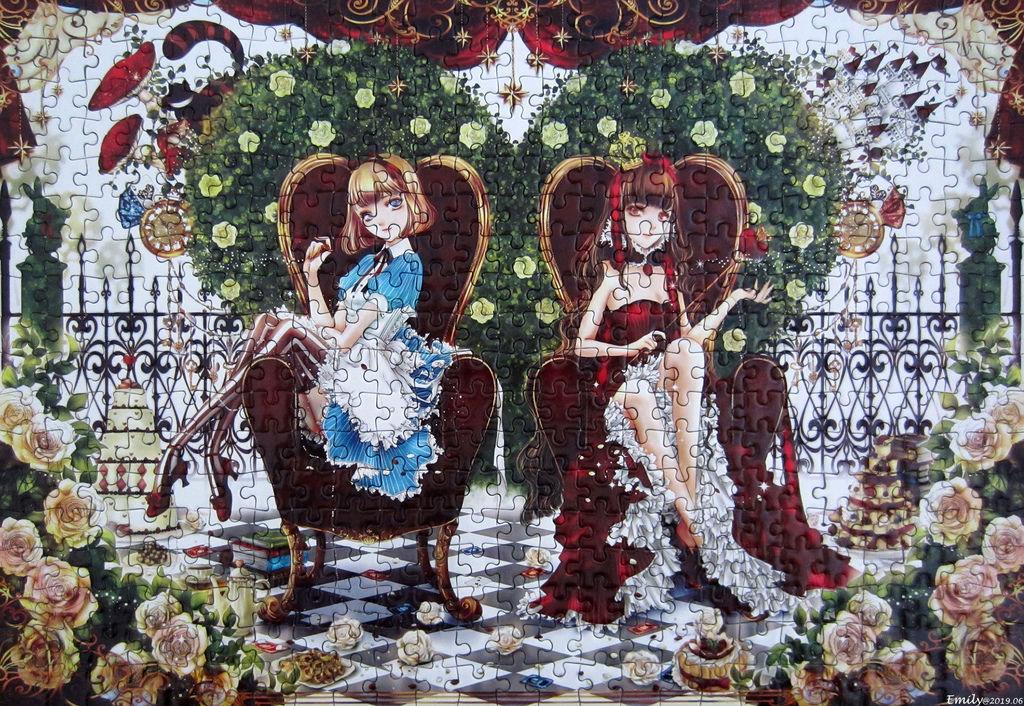 《艾‧拼圖-1133》Alice and Queen.jpg