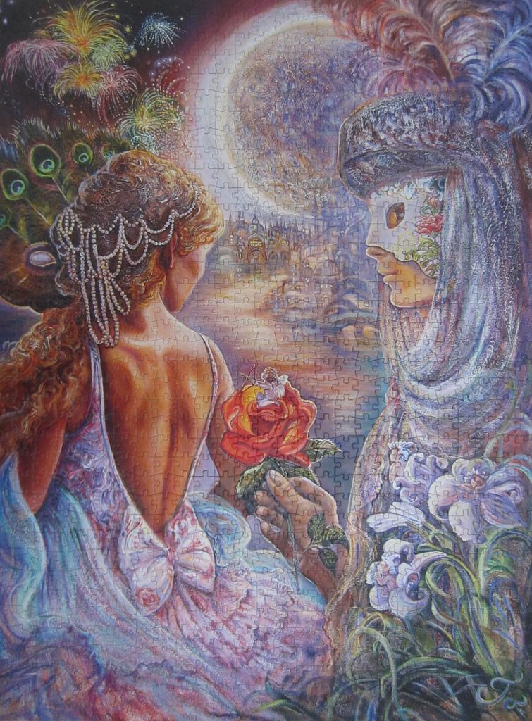 《艾‧拼圖-1196》Masque of Love.JPG