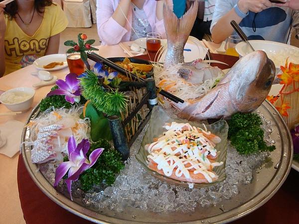 生魚片午餐