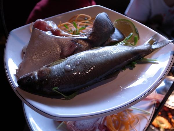 香魚和魚下巴