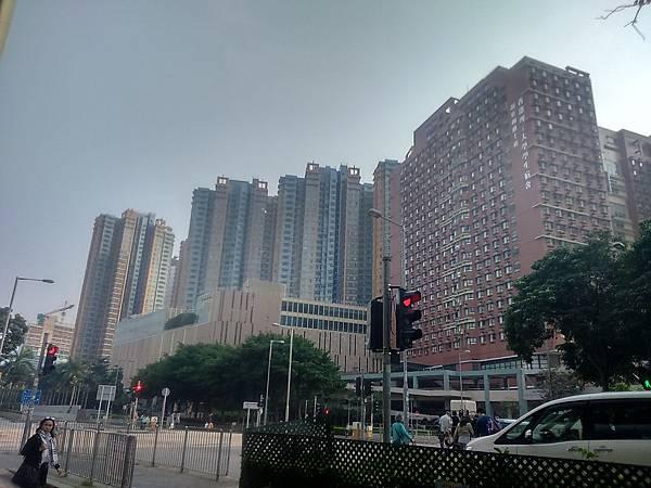 香港的高樓大廈