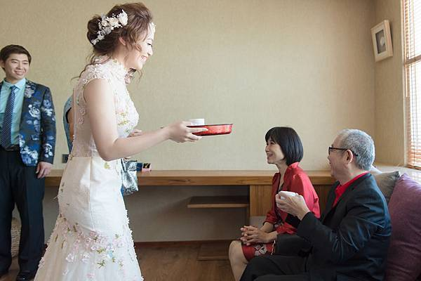 結婚-文定奉茶