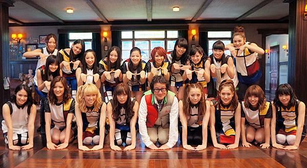水田伸生+E-Girls