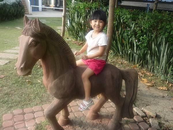 真的有馬,而且是真的馬