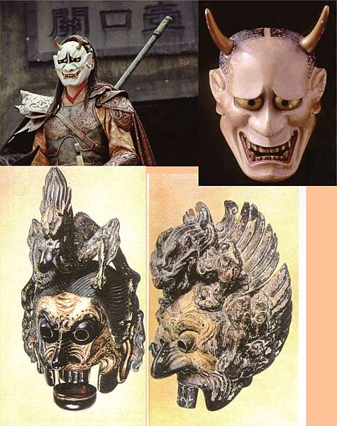 蘭陵王面具