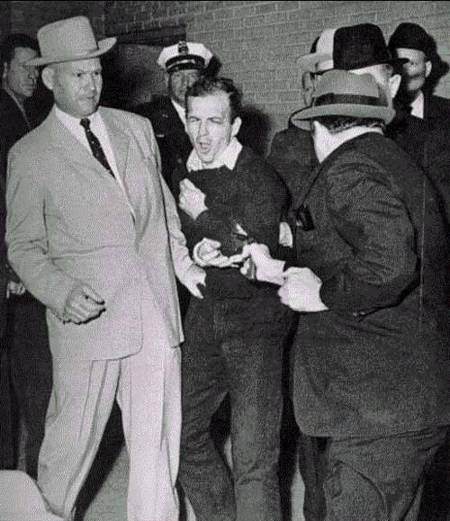永遠的謎-刺殺甘迺迪的兇手被槍殺