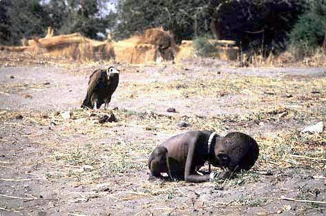 飢餓的蘇丹