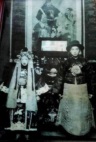結婚老照片
