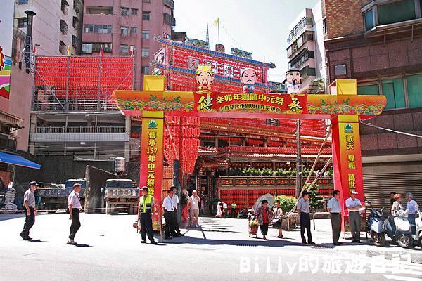 2011基隆中元祭-老大公廟開龕門001.JPG