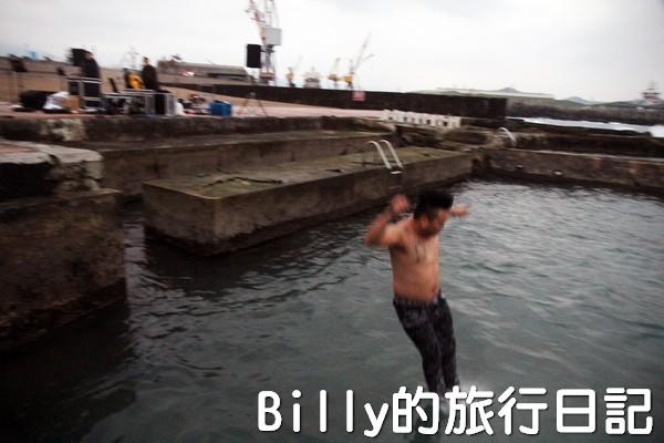 和平島迎曙光跳海表情意022