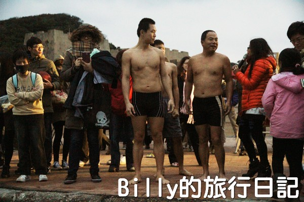 和平島迎曙光跳海表情意013