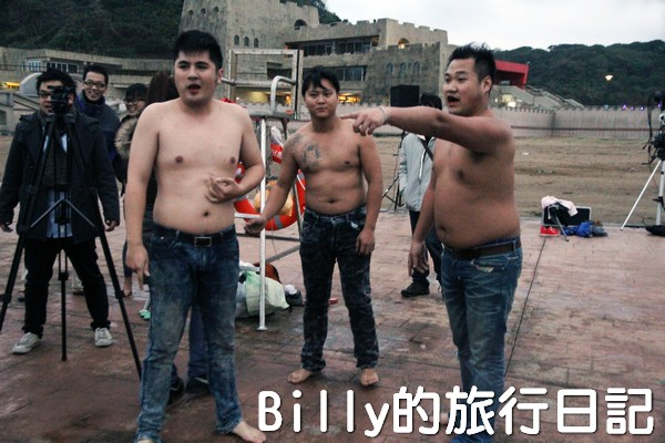 和平島迎曙光跳海表情意018