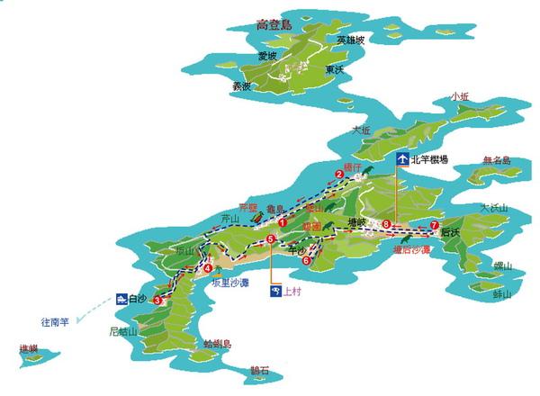 馬祖北竿遶境路線圖.jpg