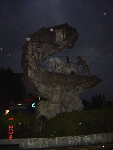 12 菁桐採礦雕像