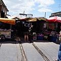 美功鐵路市場入口