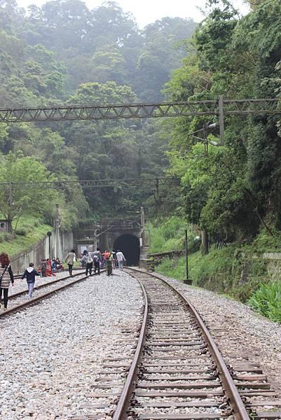 勝興車站往南,二號隧道入口端