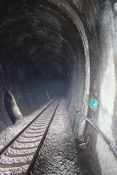 二號隧道入口處