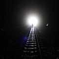 二號隧道內恍如夢境通道