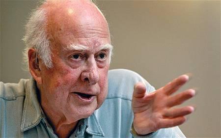 Peter Higgs創建希格斯粒子理論