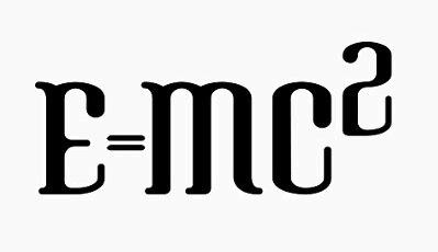 能量E,質量m,光速c