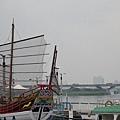 大稻埕碼頭望淡水河