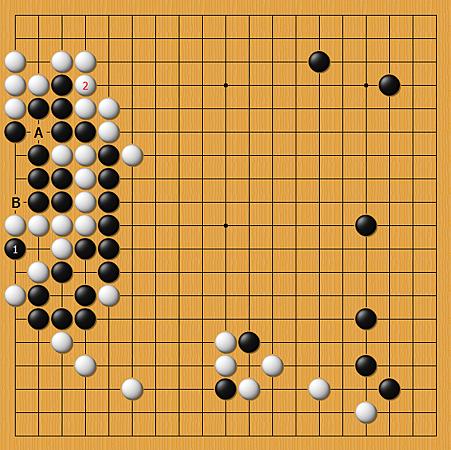 孔杰(黑)vs邱峻(白)
