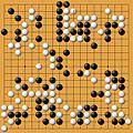 劉昌赫(黑)vs李昌鎬(白)