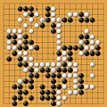 加藤正夫(黑)vs林海峰(白)