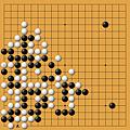曹薰鉉(黑)vs崔哲瀚(白)